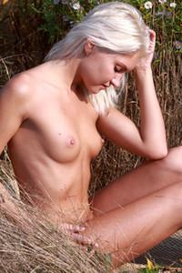 Model Cristina A in In the Tall Grass