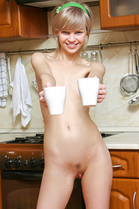 Model Cindy B in Cindy Kitchen